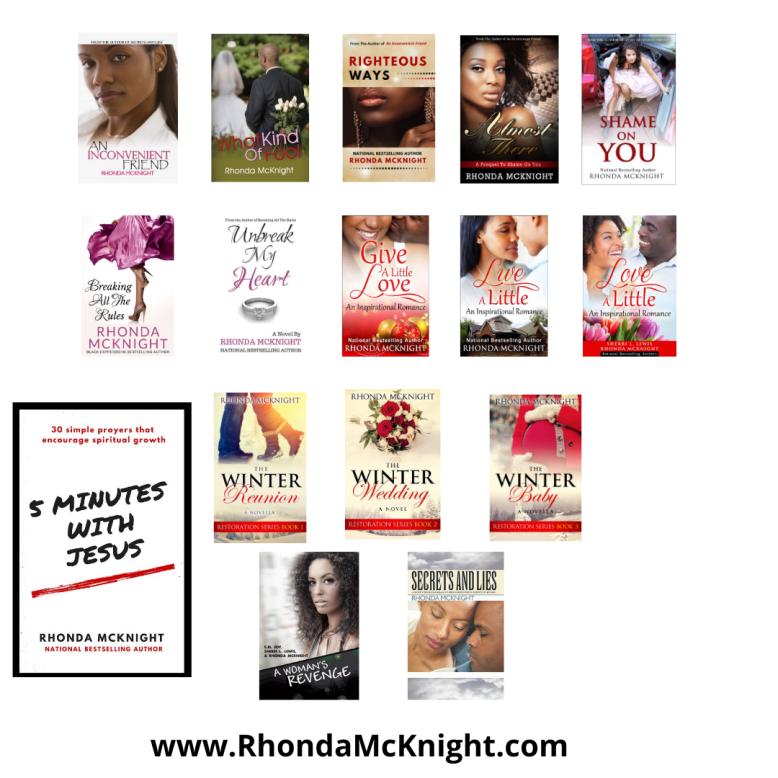 Rhonda McKnight_Books